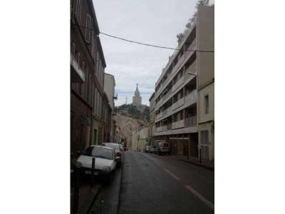 Vue sur Notre-Dame de la Garde