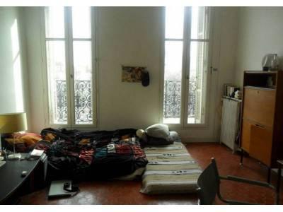 location appartement meubl 1 pi ce 20m notre dame du mont 6 me marseille ref 81578. Black Bedroom Furniture Sets. Home Design Ideas