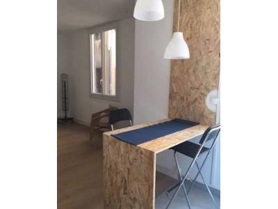 location appartement meubl 1 pi ce 27m noailles 1er marseille ref 86016. Black Bedroom Furniture Sets. Home Design Ideas