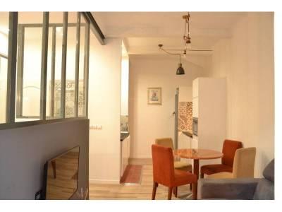 location appartement meubl 2 pi ces 40m la blancarde 4 me marseille ref 81781. Black Bedroom Furniture Sets. Home Design Ideas