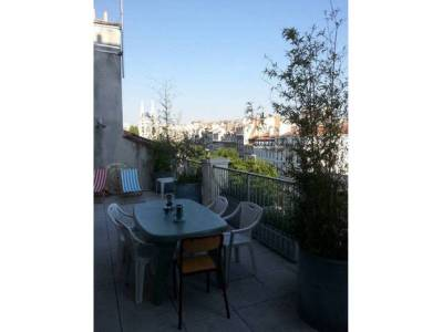 Location appartement meubl duplex 4 pi ces 90m belsunce for Location appartement meuble a marseille