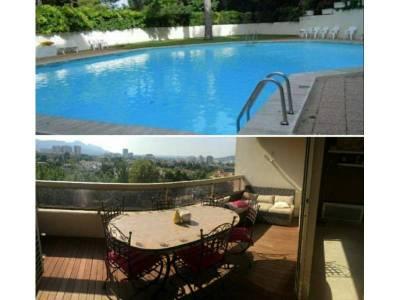 Terrasse + piscine