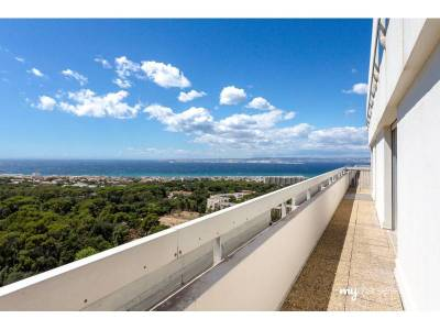 Vente appartement duplex renover 6 pi ces 200m piscine for Piscine marseille pointe rouge