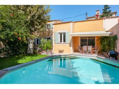 Vente maison de ville 6 pi ces 170m piscine montolivet for Piscine 12eme